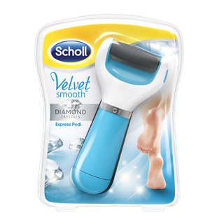 SCHOLL VELVET SMOOTH LIMA DE PIES DIAMOND CRYSTALS